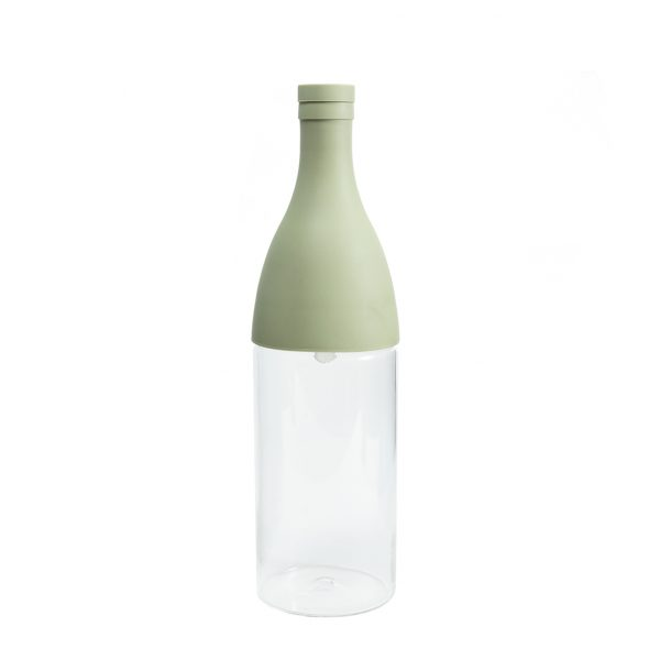 Hario Cold Brew Tea Champagne Bottle Smoky Green