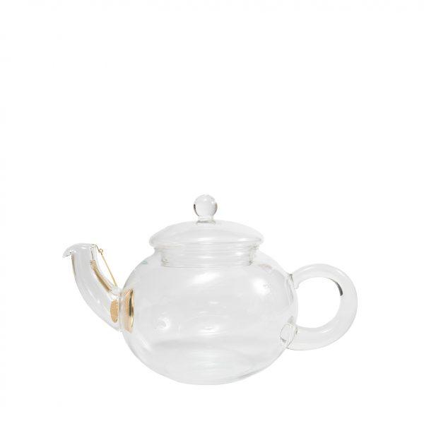 Jumping Leaf Grass Tea Pot