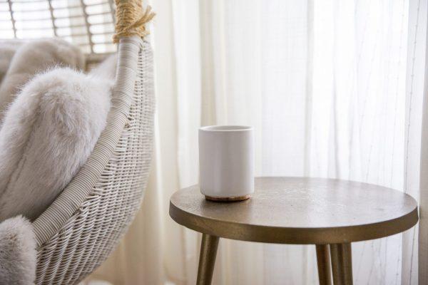 White Monty Milk Cup